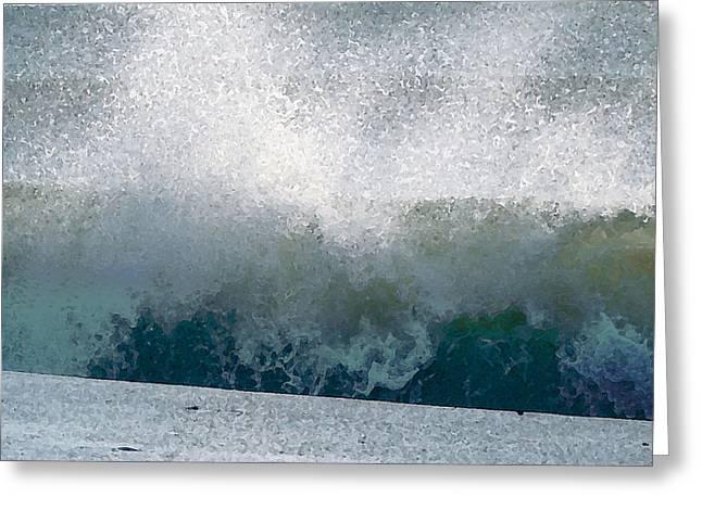 Wave 1 Greeting Card
