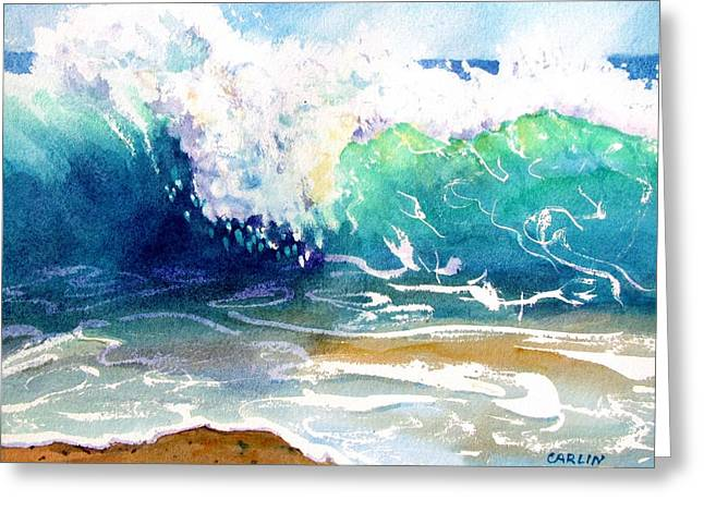 Wave Color Greeting Card