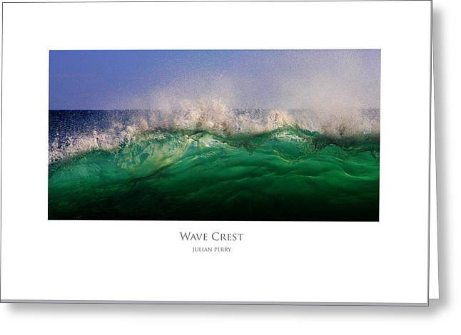 Wave Crest Greeting Card