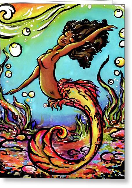 Wave Dancer  Greeting Card