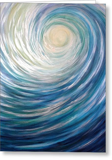 Wave Of Light Greeting Card