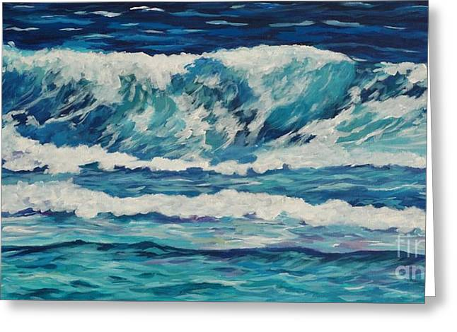 Wave Off Prospect Reef Greeting Card by John Clark