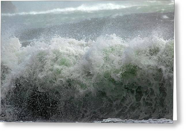 Wave On A Mission Greeting Card