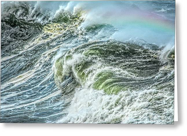 Wave Rainbow Greeting Card