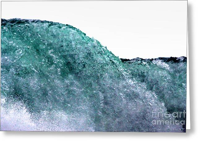 Greeting Card featuring the photograph Wave Rider by Dana DiPasquale