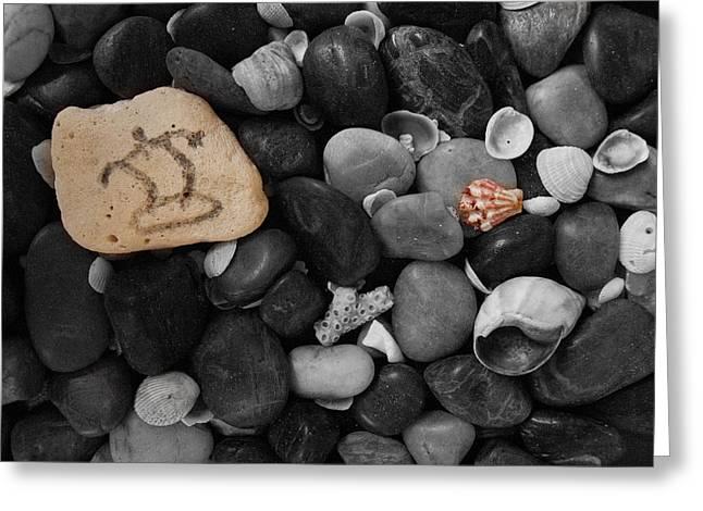 Wave Rocks Greeting Card