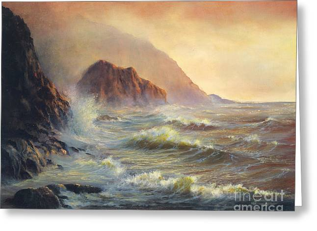 Waves After The Storm Greeting Card