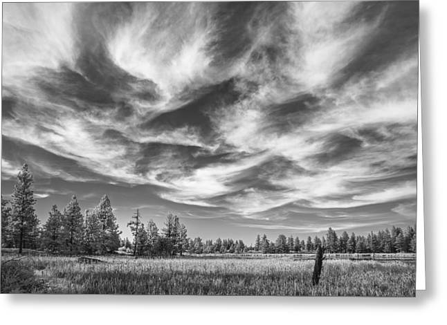 Waves Of Clouds Greeting Card by Jon Glaser