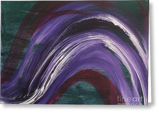 Waves Of Grace Greeting Card