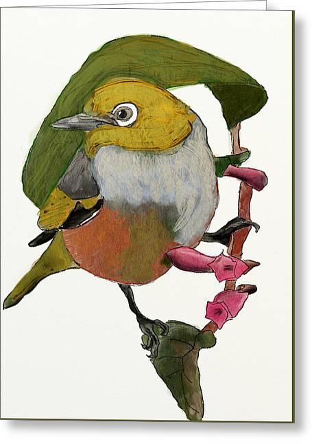Waxeye Greeting Card