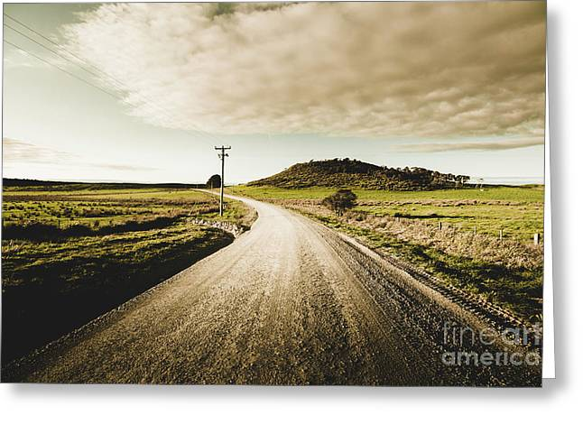 Way Out Yonder Greeting Card