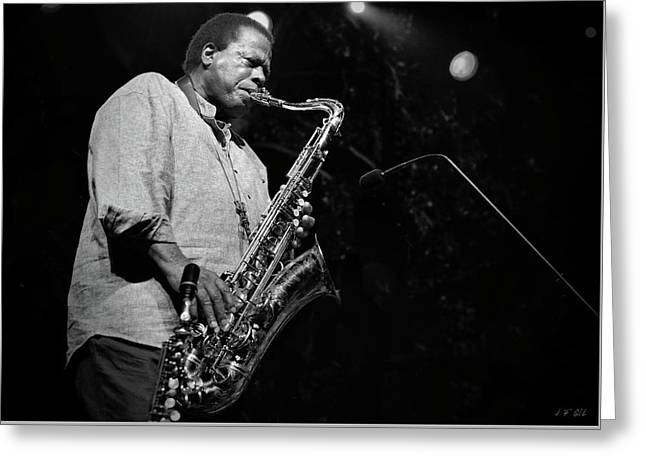 Wayne Shorter Discography Greeting Card