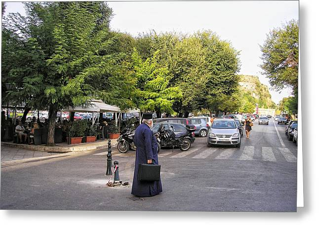 Greeting Card featuring the photograph Ways To Stop Traffic  by Connie Handscomb