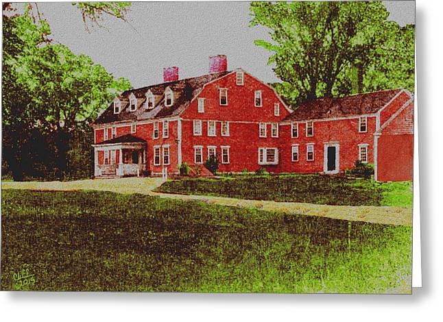 Wayside Inn 1875 Greeting Card