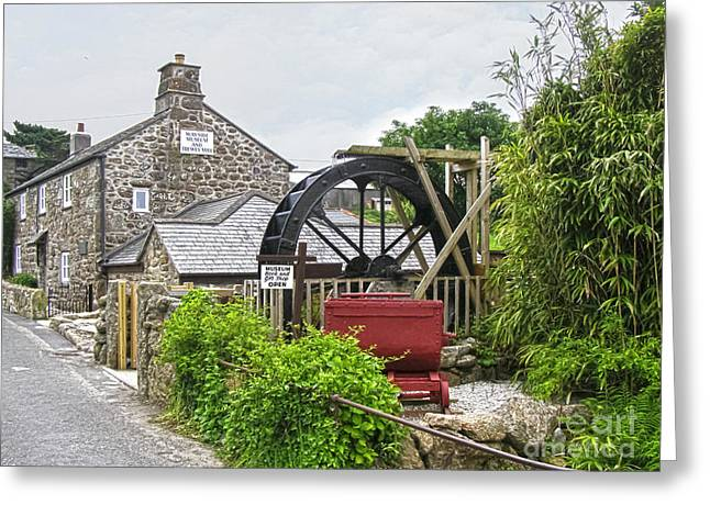 Wayside Museum And Trewey Mill, Zennor, Cornwall Greeting Card by Terri Waters