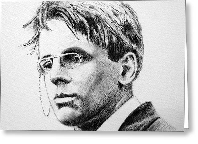 W.b. Yeats Greeting Card