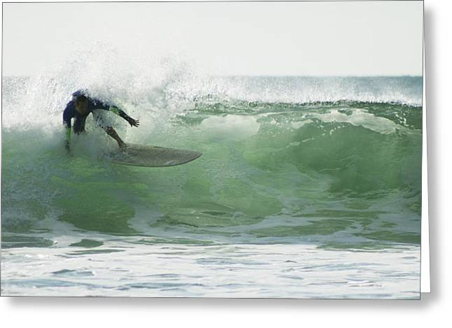 Greeting Card featuring the photograph Wbla Surf 2015 by William Love