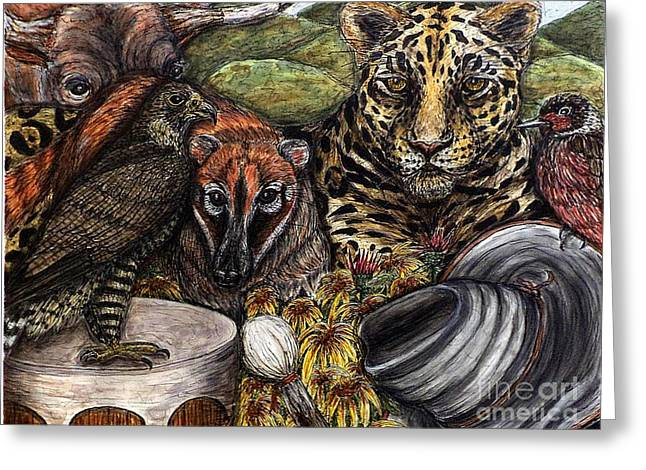 We Are All Endangered Greeting Card by Kim Jones
