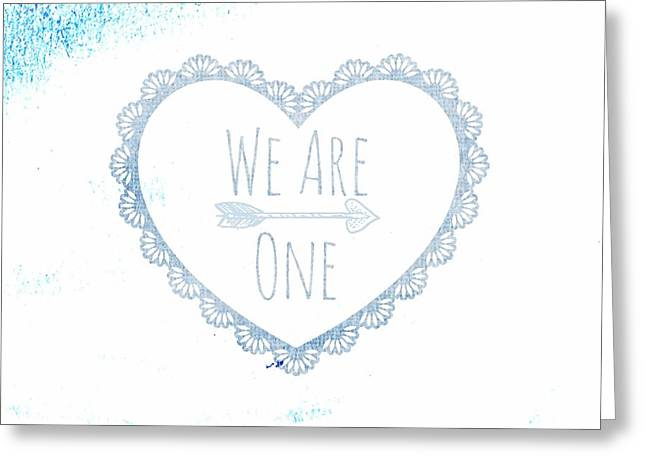 We Are One Greeting Card