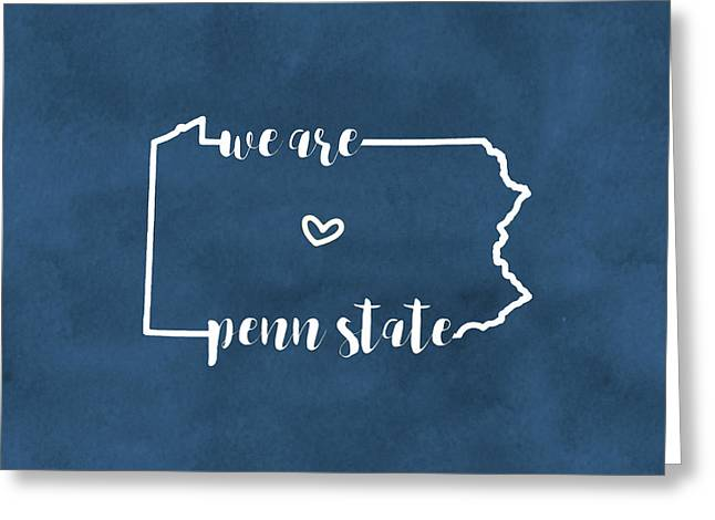 We Are Penn State Pillow Greeting Card