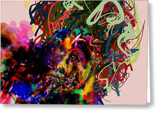 Ego Digital Art Greeting Cards - We have a Problem Greeting Card by James Thomas