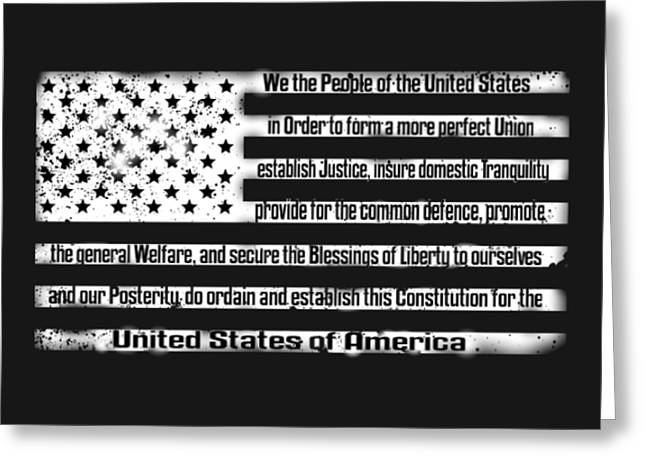 We The People Greeting Card by Patriot 1