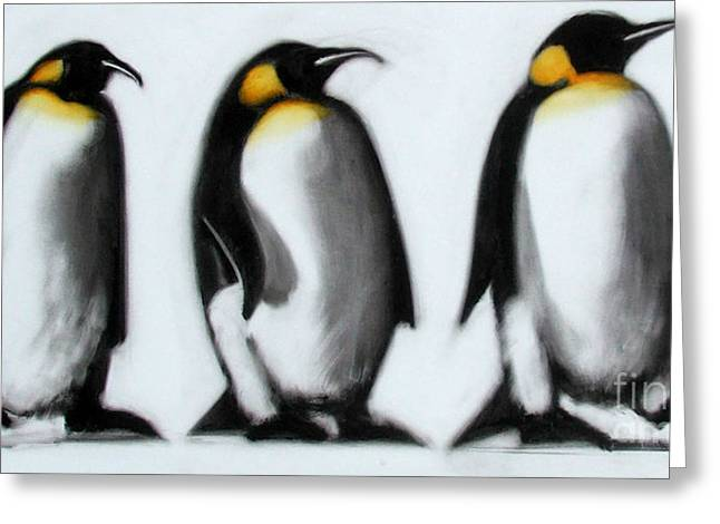 We Three Kings Greeting Card by Paul Powis