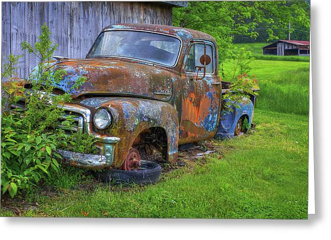 Wears Valley 1954 Gmc Wears Valley Tennessee Greeting Card