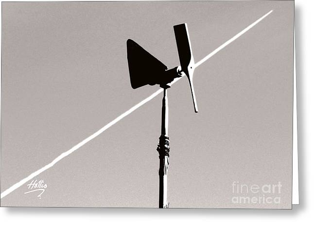 Greeting Card featuring the photograph Weather Vane by Linda Hollis