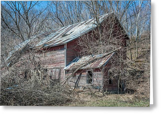 Weathered And Broken Greeting Card by Dan Traun