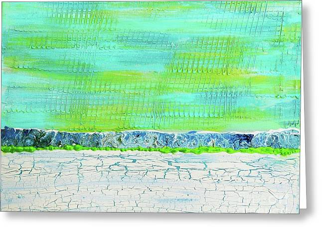 Weathered Greeting Card by Desiree Paquette