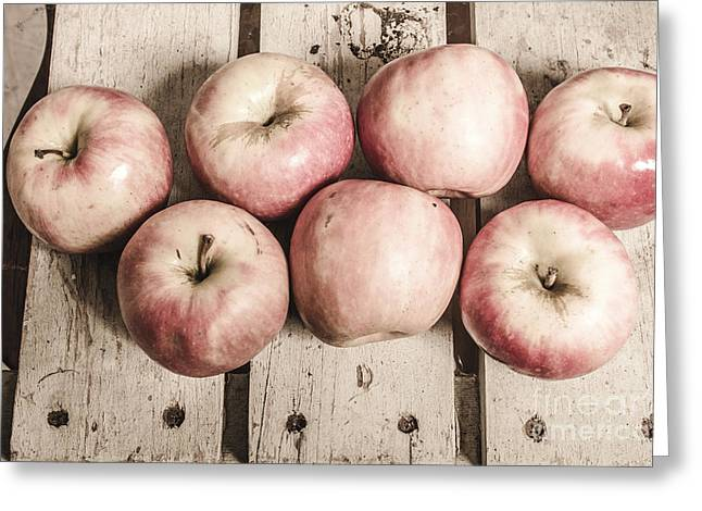 Weathered Fruits Greeting Card by Jorgo Photography - Wall Art Gallery