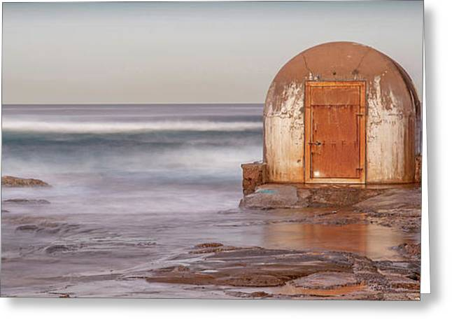 Weathered In Time Greeting Card
