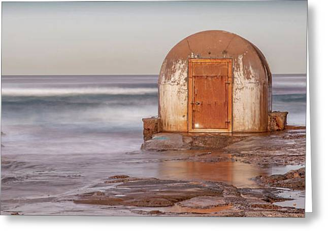 Weathered In Time Greeting Card by Az Jackson