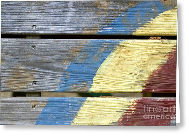 Weathered Greeting Card by Jeannie Burleson