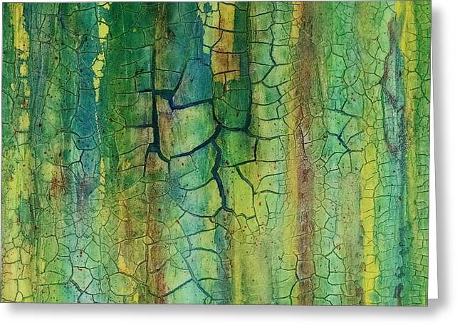 Weathered Moss Greeting Card