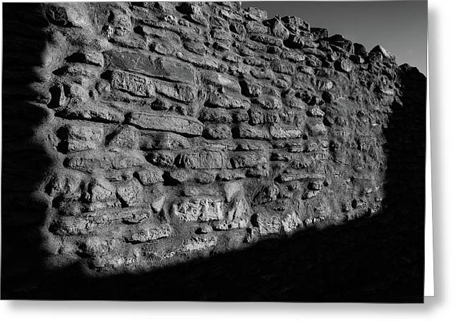 Weathered Wall Greeting Card by Michael Osborne