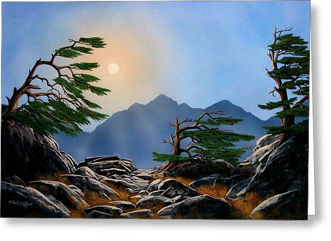 Pacific Crest Trail Greeting Cards - Weathered Warriors Greeting Card by Frank Wilson