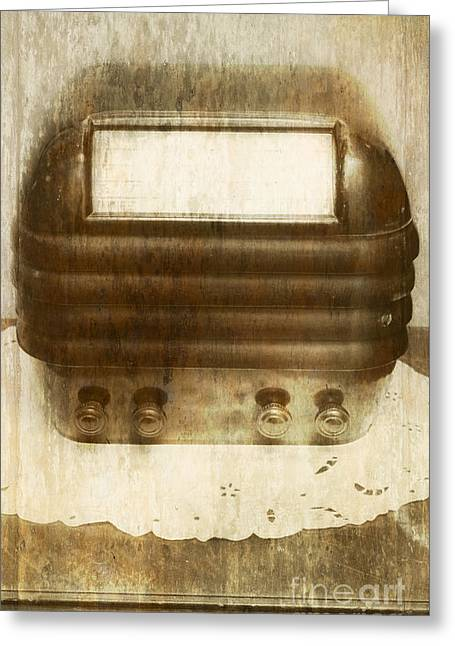 Weathered Wireless Greeting Card by Jorgo Photography - Wall Art Gallery