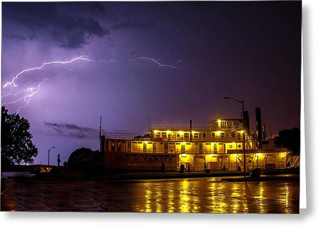 Weathering The Storm Greeting Card by Joe Scott