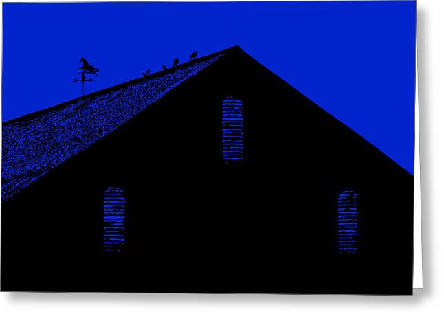 Weathervane Greeting Card by Robert Geary