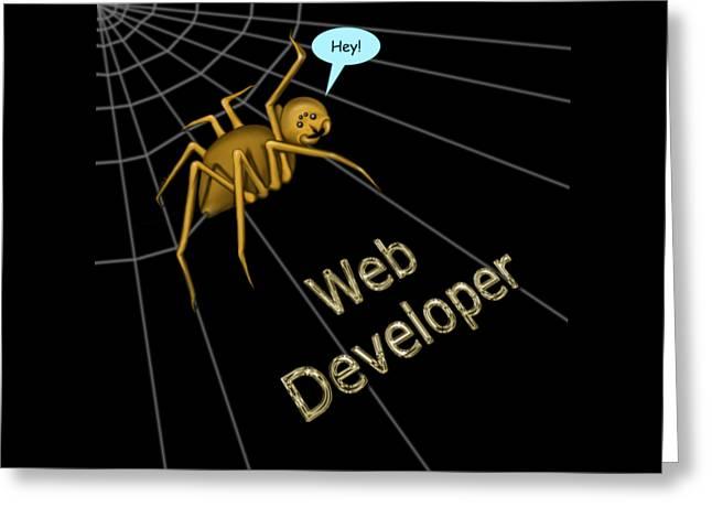 Web Developer Greeting Card