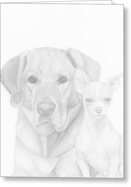 Webster And Lulu Greeting Card