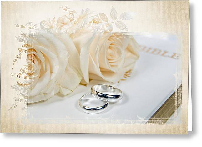 Wedding Bible Greeting Card