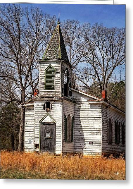 Greeting Card featuring the photograph Wedding Chapel by Alan Raasch