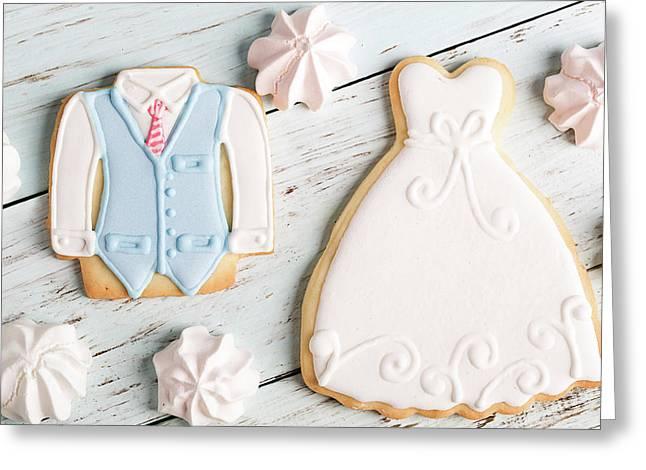 Wedding Cookies Greeting Card