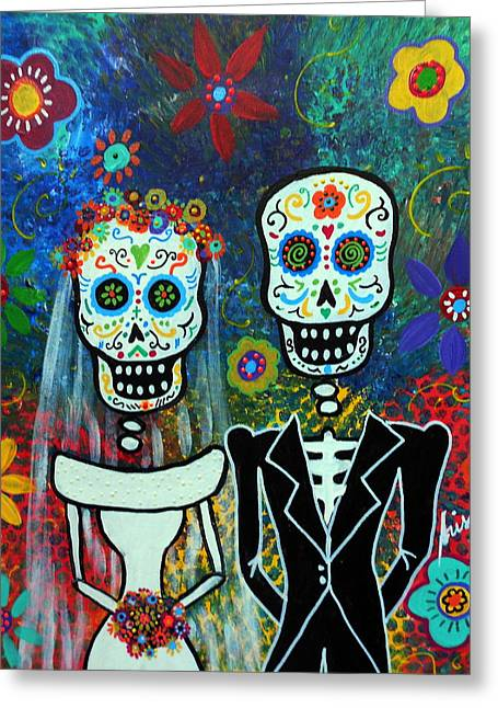 Wedding Muertos Greeting Card