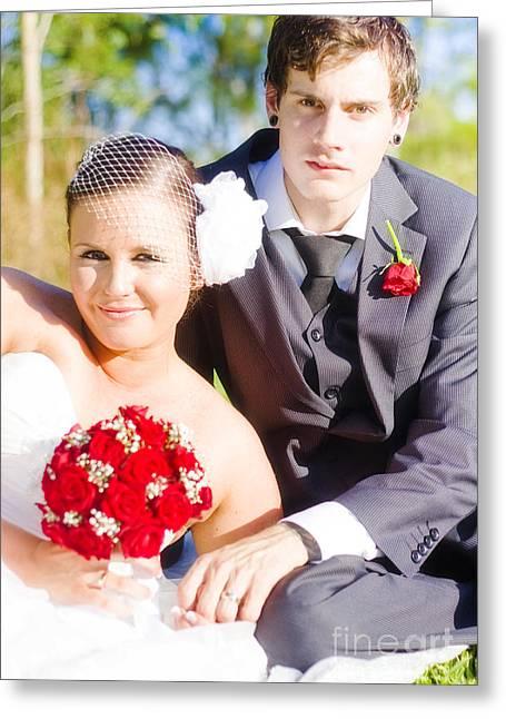 Wedding Portrait Greeting Card by Jorgo Photography - Wall Art Gallery
