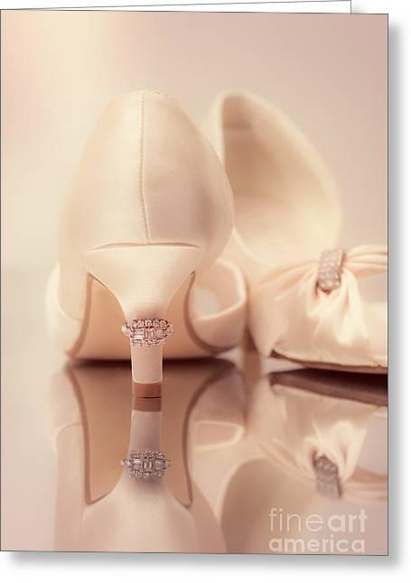 Wedding Sandals Greeting Card