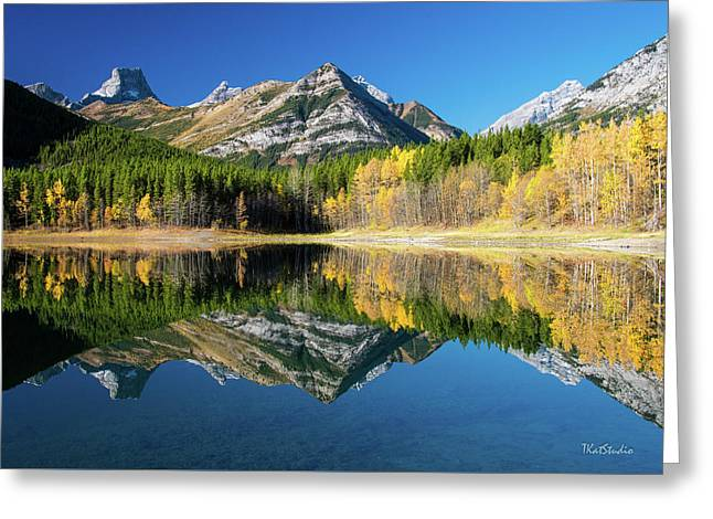 Wedge Pond Color Greeting Card